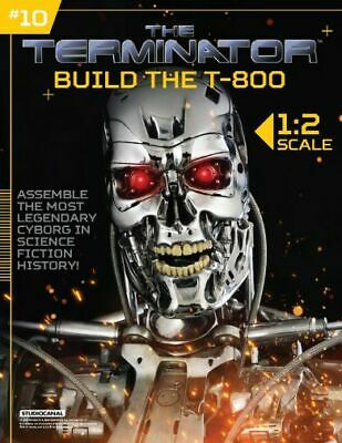 Hachette Issue # 10 The Terminator T-800 Endoskeleton Build Your Own Model Small