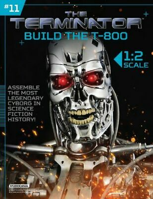 Hachette Issue # 11 The Terminator T-800 Endoskeleton Build Your Own Model Small