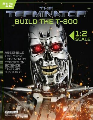 Hachette Issue # 12 The Terminator T-800 Endoskeleton Build Your Own Model Small