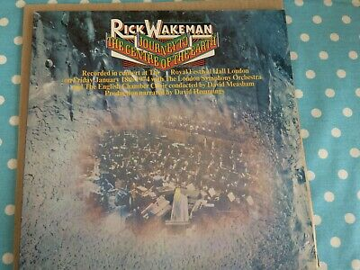 Rick Wakeman: Journey to the Centre of the Earth, 1975 Prog Rock, NO RESERVE