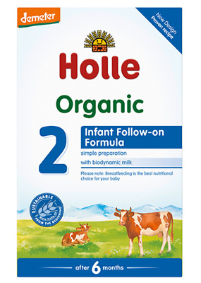 Holle Organic Cow Milk Infant Follow On Formula Stage 2 600g