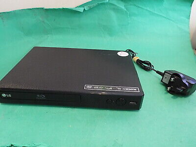 LG BP250 Blu-ray Player DVD Player Black Fully Tested Very small