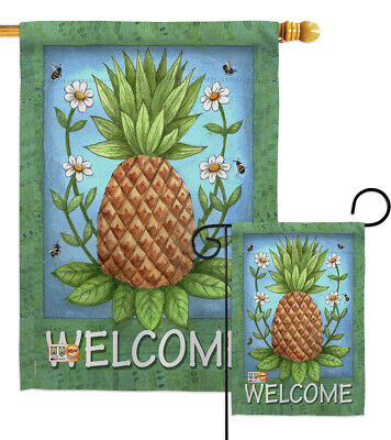 Impressions Decorative Flag Collection Welcome Patriotic HG111056