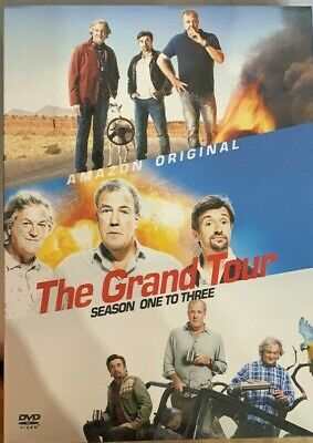The Grand Tour Season 1-3 DVD Box Set UK Compatible New Sealed (24 Hour Postage)