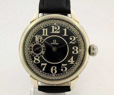 1920's antique Omega 40.6L T1 chronometer marriage watch