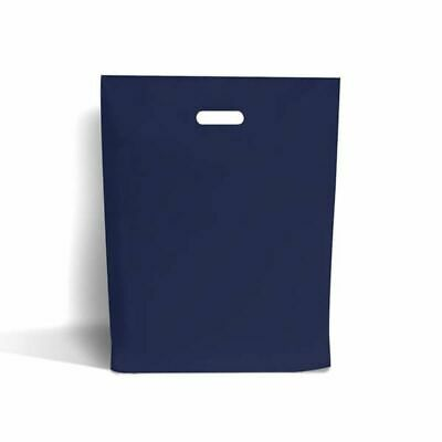 Navy Blue Classic Plastic Carrier Bags [Standard Grade]
