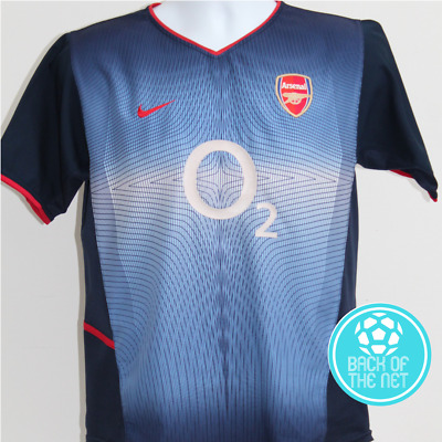 195f6ceaf ARSENAL AWAY SHIRT 2002-03 Size XS - £14.00