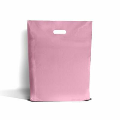 Pink Classic Plastic Carrier Bags [Standard Grade]