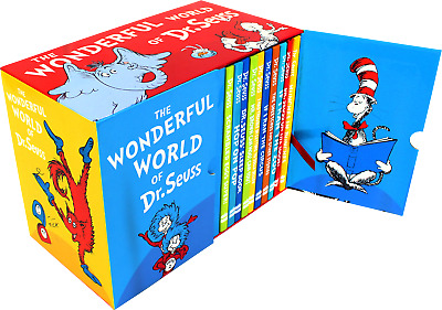 The Wonderful World of Dr Seuss 20 Books Collection Box Childrens Set Pack NEW