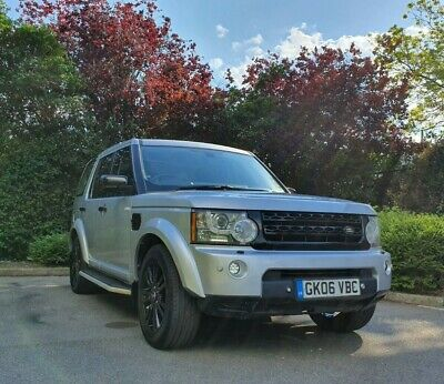 7 Seater Land Rover Discovery 3 4 Hse 2.7L Tdv6 Facelifted 2013 Zambezi Silver