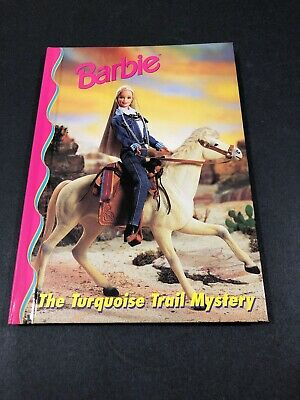 Barbie And Friends Book Club - The Turquoise Trail Mystery HC Illustrated  4-8