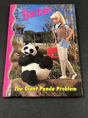 Barbie And Friends Book Club - The Giant Panda Problem HC Picture Chapter  4-8