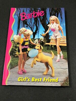Barbie And Friends Book Club - Girls Best Friend HC Picture Chapter Book 4-8 VTG