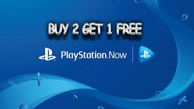 PlayStation Now 7-Day (1 Week) Trial For PS4 Ad Windows PC