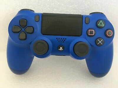 Genuine PS4 Dual Shock 4 PlayStation 4 Controller Wave Blue - Excellent Cond!