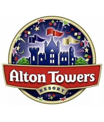 Alton Towers Tickets x2 for Monday 24th June