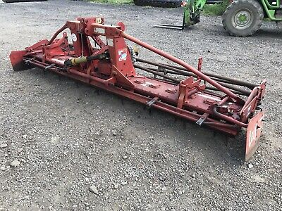 Lely Roterra 44 4M Power Harrow/ Rotarer/ Rotorvator For Tractor PLUS VAT