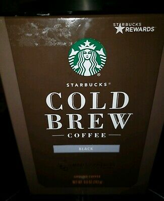 Starbucks Cold Brew Coffee Pitcher Packs One Box Makes 2 Pitchers May 2019