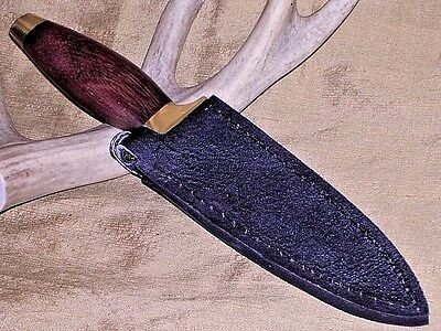 Quick Draw Western Style Hunting Boot Knife Dagger W/ Boots Clip Sheath 9'' !!!