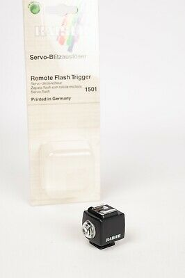 Kaiser remote flash trigger 1501 - Optical Slave Trigger for  flash Synchro-Eye