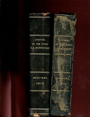 Journal of the Royal United Service Institution, vol - 56,  1912 , 2  vol. ,1st