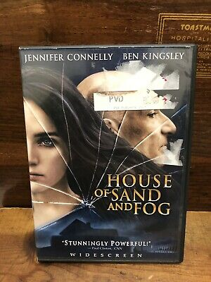 HOUSE OF SAND AND FOG Widescreen DVD 2013 Drama VGC (DISC ONLY)