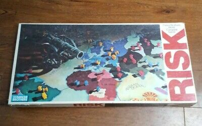 Risk Board Game Vintage 1975 Complete Original Classic 70s Tabletop Strategy A44