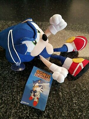 Sonic The Hedgehog Plush Stuffed Teddy Bear Soft Toy New With Tag 19CM UK SELLER
