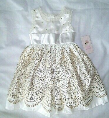 Girls' Clothing (sizes 4 & Up) Clothing, Shoes & Accessories Jona Michelle Dress Size 5 Nwt Navy