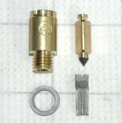 CARTER SUPERCHARGED CARTER YH 1 BARREL SPRING BRASS LOADED NEEDLE /& SEAT 4 PIECE