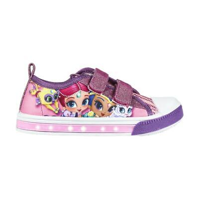 Shimmer And Shine Led Light Kids Shoes Trainers Sneakers Original Licensed Sh...