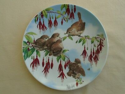 """Royal Worcester Happy Families Collection 7.5"""" Plate - Lunchtime - Excellent"""
