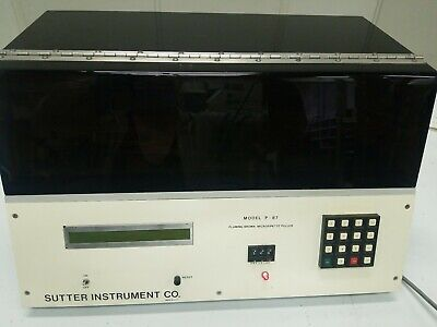SUTTER INSTRUMENT MODEL P-87 FLAMING BROWN MICROPIPETTE PULLER   CdSl