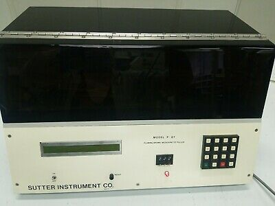 SUTTER INSTRUMENT MODEL P-97 FLAMING BROWN MICROPIPETTE PULLER   CdSl