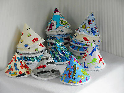 PEE PEE TEEPEES x 3 AEROPLANES.. Hand Crafted ..Ideal baby shower gift