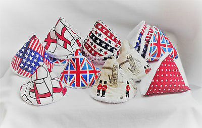 PEE PEE TEEPEES X 3 **reduced** ..UK & USA THEME  ideal baby shower gift