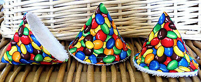 """PEEPEE TEEPEES X 3...""""SMARTIES"""".. ideal baby shower gift"""