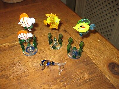 MAINLY MURANOand a few staffordshire glass animals and other glass items 67 qty