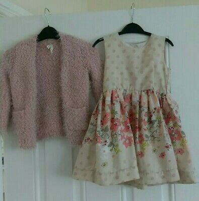 Girls Party Outfit Matalan dress and Young dimension cardigan 2-3 Years