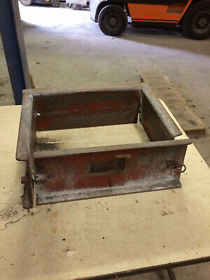 "Foundry Tools  / Metal Casting Molding Jackets -  Used - Wopper Jaws - 12"" x 16"""