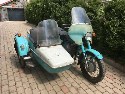 Izh jupiter-3K Russian Cossack with sidecar 1979 vintage two stroke barn find