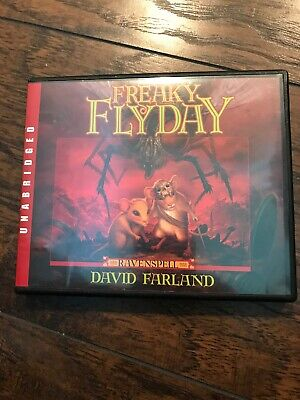 David Farland Freaky Flyday Unabridged CD Set Audio Book 3 Adventure Novel