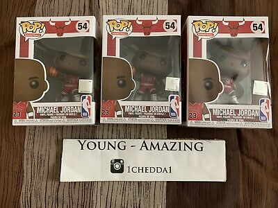 Funko Pop! Michael Jordan #54 New Mint Condition Basketball