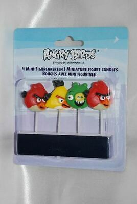Candele Angry Birds 4pz