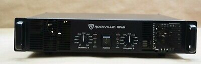 Rockville 3000 Watt Peak, 800w RMS 2 Channel Power Amplifier Pro/DJ Amp (RPA9)