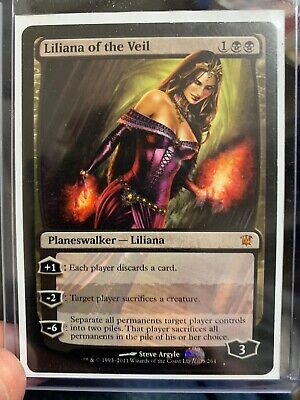 Liliana of the Veil Innistrad Magic mtg Moderately Played
