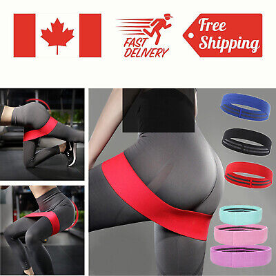 Resistance GYM Loop Band Exercise Workout Bands Hips Booty Legs Butt Glutes Yoga