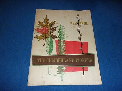 Vintage 1962 Cumberland County Tennessee Pioneer Yearbook