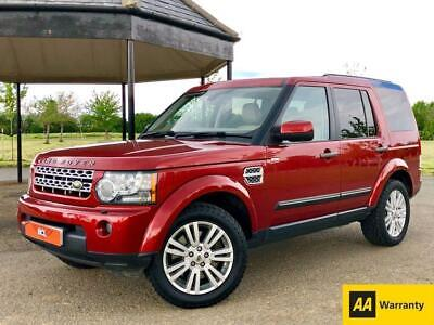 2010 10 Land Rover Discovery 3.0 4 Tdv6 Hse Auto 245 Bhp 7 Seater 5 Dr Estate Di