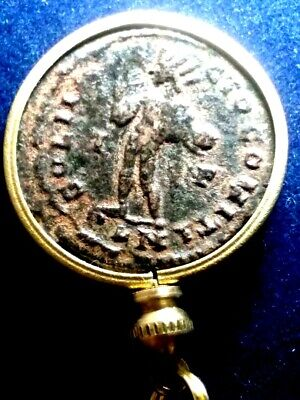 Constantine I London Mint Æ2 Authentic Ancient Roman Coin Pendant Necklace Sandy